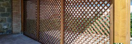 Grigliati in legno